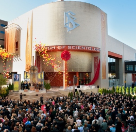 The new Church of Scientology Twin Cities Ideal Organization was dedicated October 22, 2011, in ceremonies attended by more than 1,000 Scientologists and their guests.